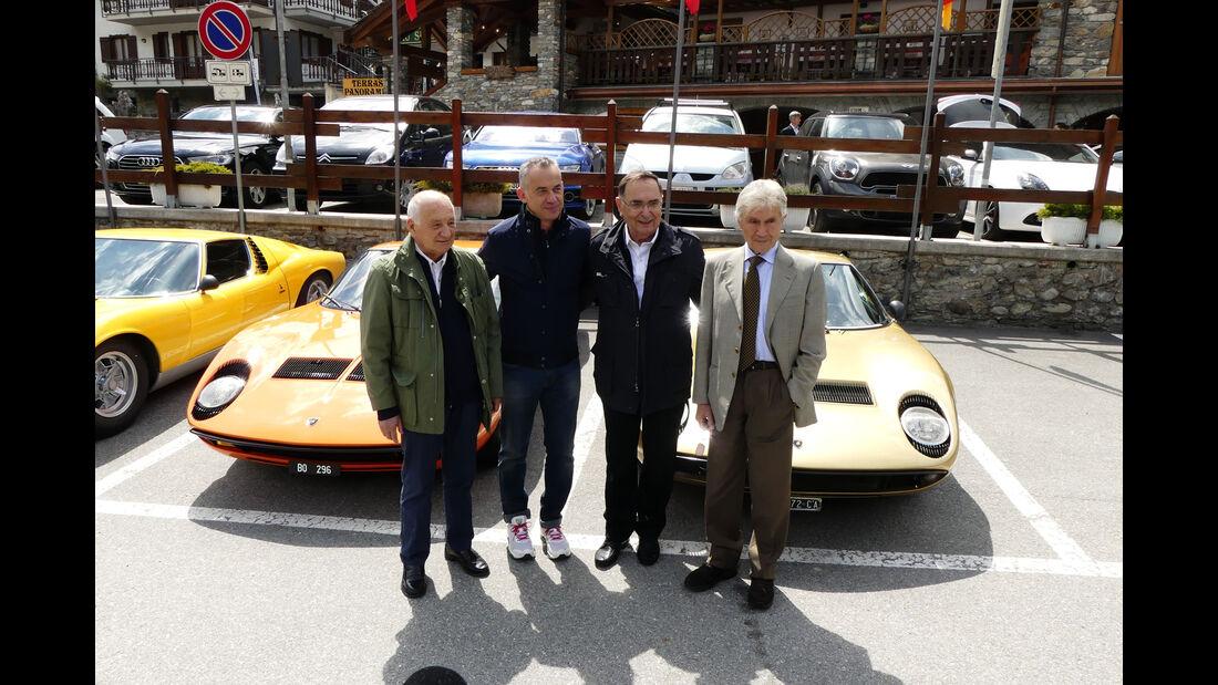Lamborghini Miura - 50 Jahre - Stanzani - Reggiani - Dallara - Gandini