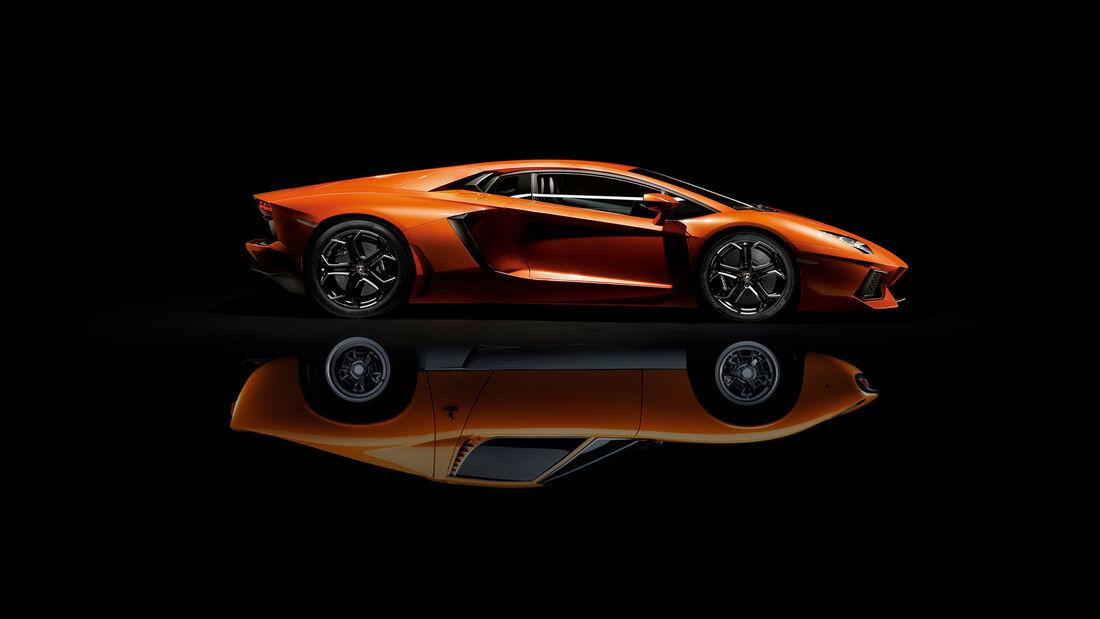 Lamborghini Miura - Aventador