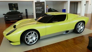 Lamborghini Miura Concept 2006 - Lamborghini Museum - Sant'Agata Bolognese