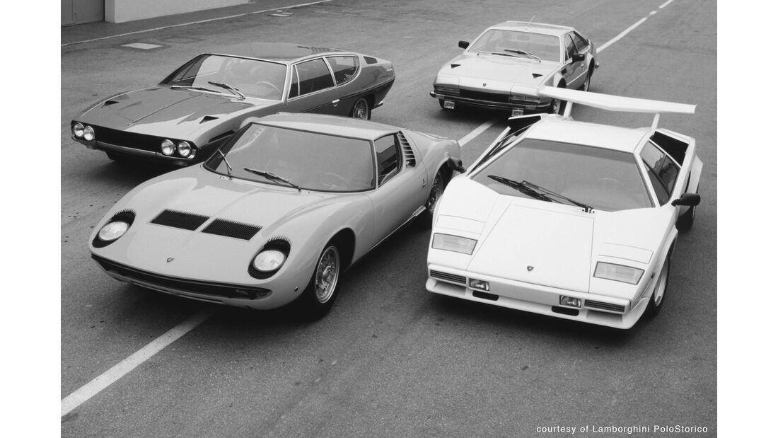 Lamborghini Miura - Countach - Classic Cars