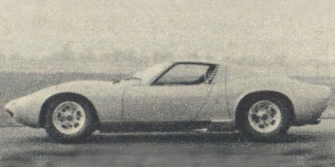 Lamborghini, Miura, IAA 1967