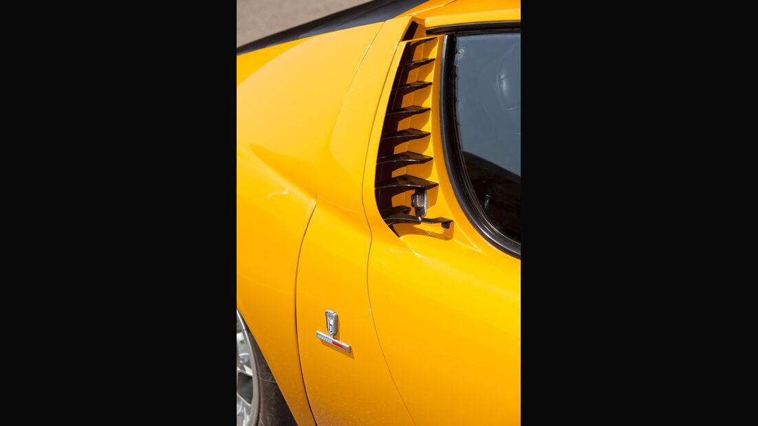 Lamborghini Miura P 400, Luftschlitze