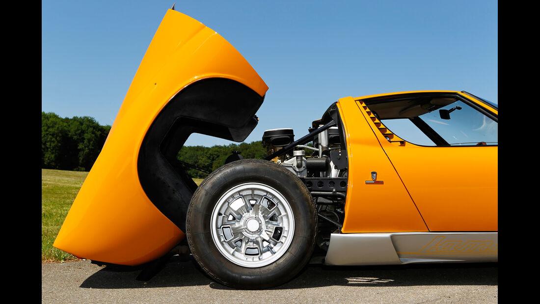 Lamborghini Miura P 400, Motorhaube
