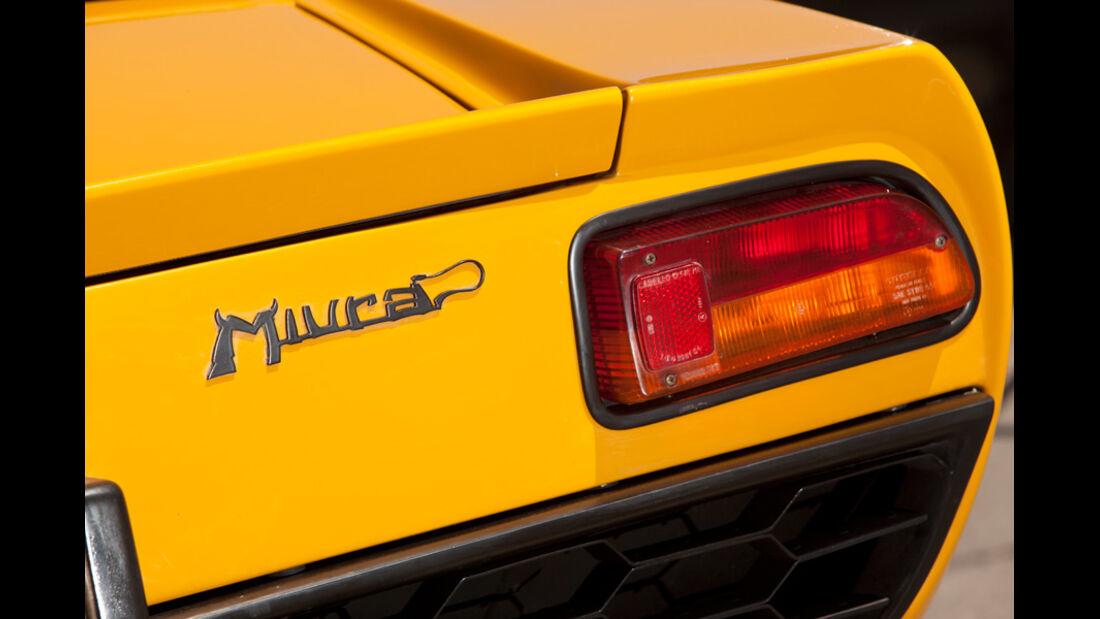 Lamborghini Miura P 400, Rücklicht