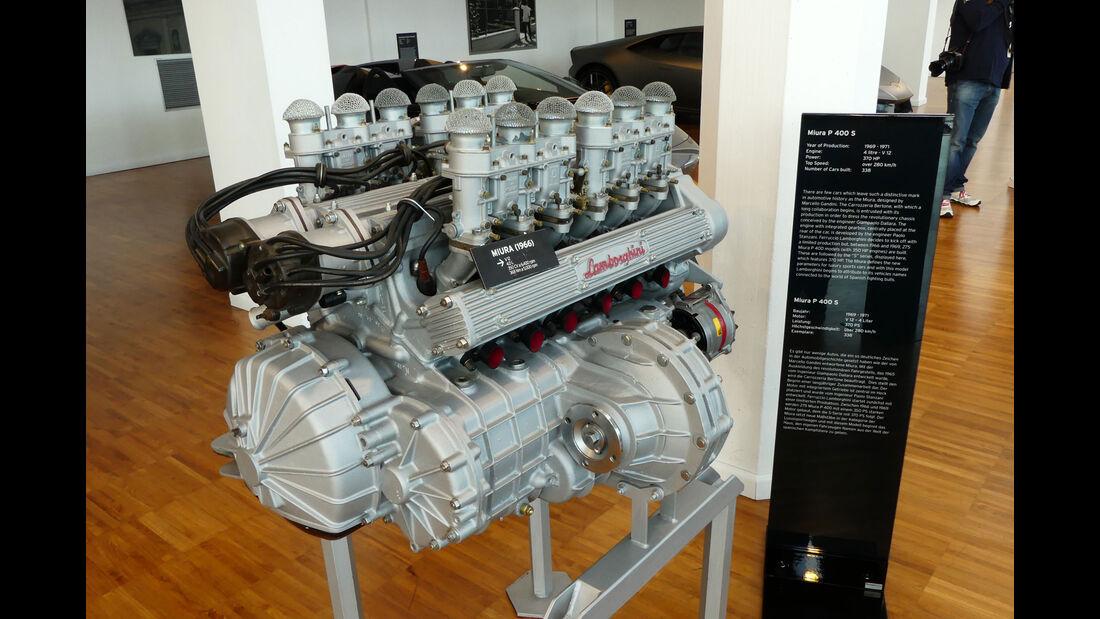 Lamborghini Miura P 400 S - V12 - Motor