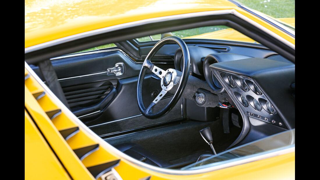 Lamborghini Miura P 400 SV, Cockpit