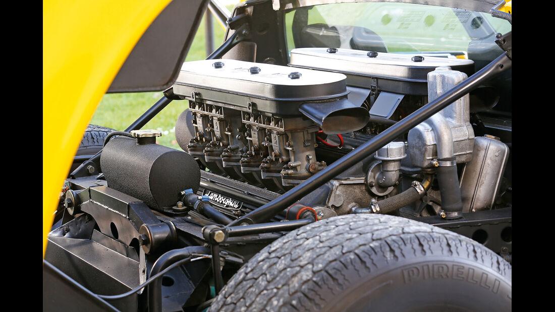 Lamborghini Miura P 400 SV, Motor