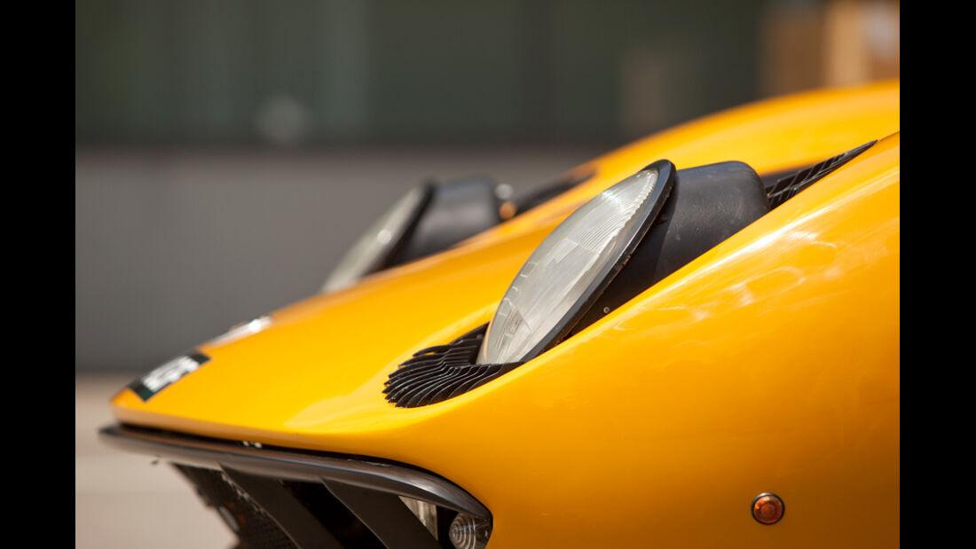 Lamborghini Miura P 400, Scheinwerfer