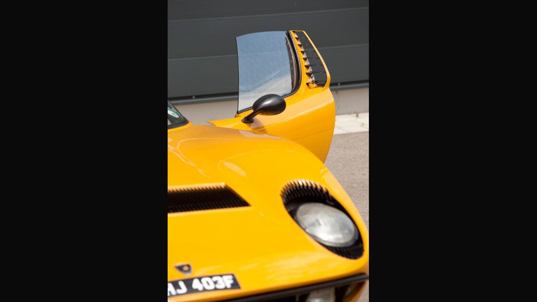 Lamborghini Miura P 400, Türe