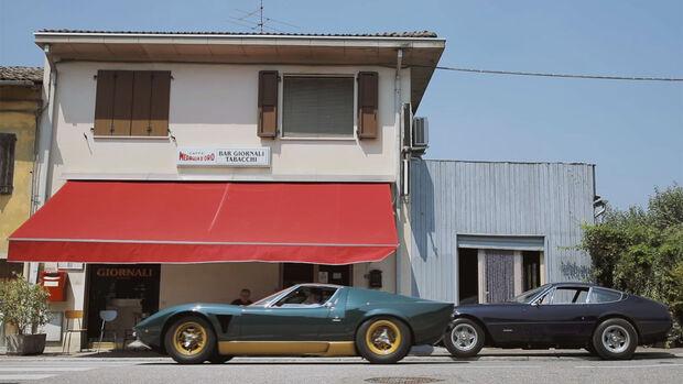 Lamborghini Miura P400 S Millechiodi Video The Rivals