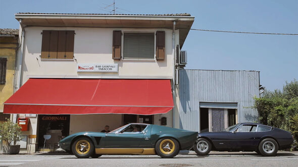 Lamborghini Miura P400 S Millechiodi Video The Rivals