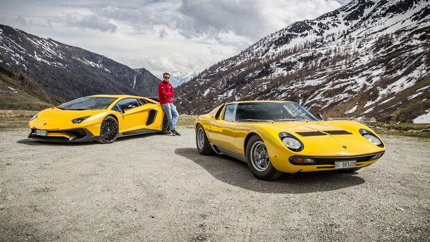 Lamborghini Miura SV - 50 Jahre - Lamborghini Aventador SV - Fahrbericht - Sportwagen - V12
