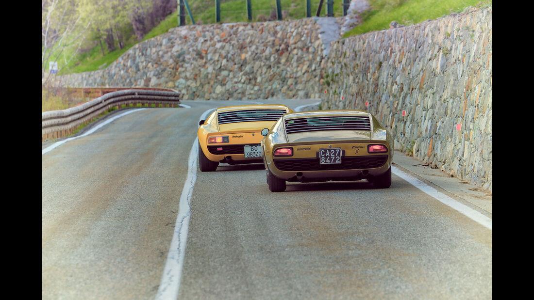 Lamborghini Miura SV & Miura S - 50 Jahre - Sportwagen - V12