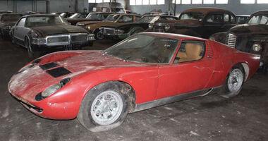Lamborghini Miura Scheunenfund Auktion