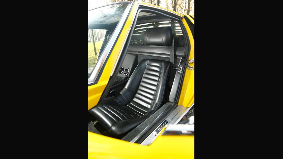 Lamborghini Miurca SV, Fahrersitz