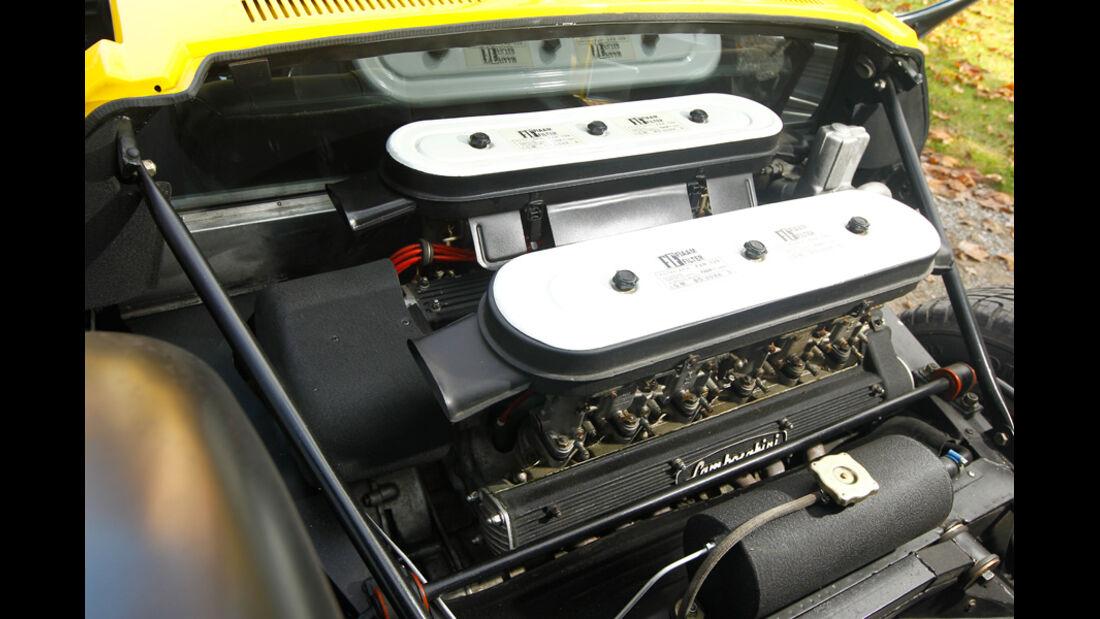 Lamborghini Miurca SV, Motorraum, Motor