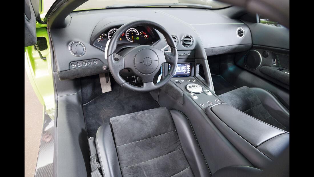 Lamborghini Murciélago, Cockpit