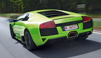 Lamborghini Murciélago, Heckansicht