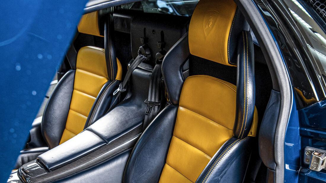 Lamborghini MurciŽlago, Interieur
