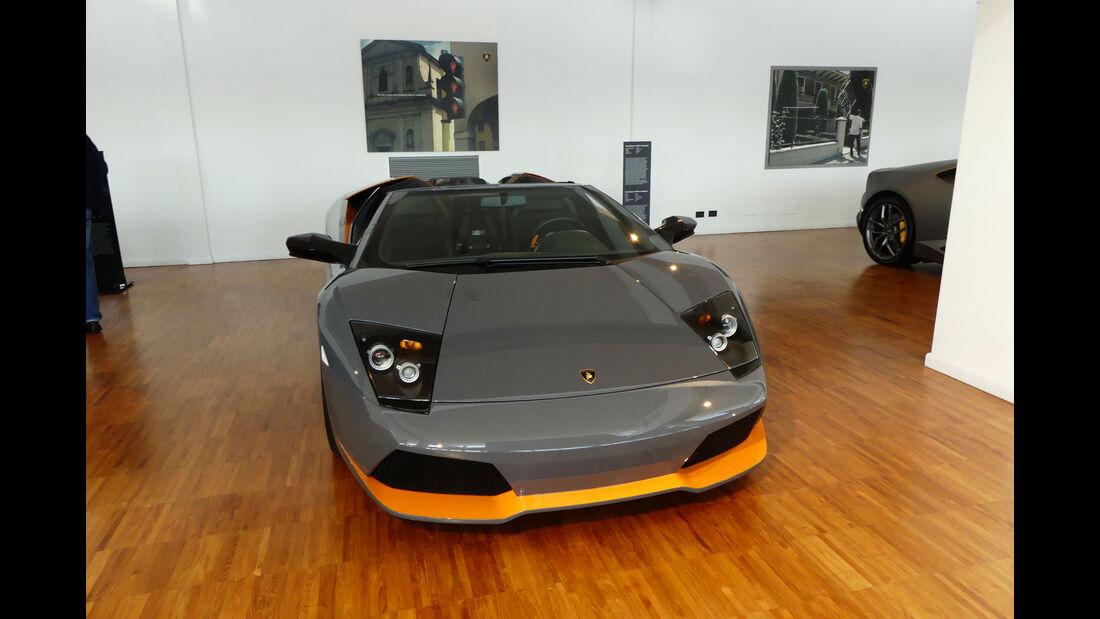 Lamborghini Murciélago LP 650-4 Roadster - Lamborghini Museum - Sant'Agata Bolognese