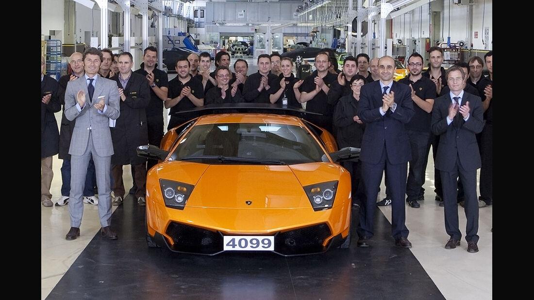 Lamborghini Murcielago Produktionsende