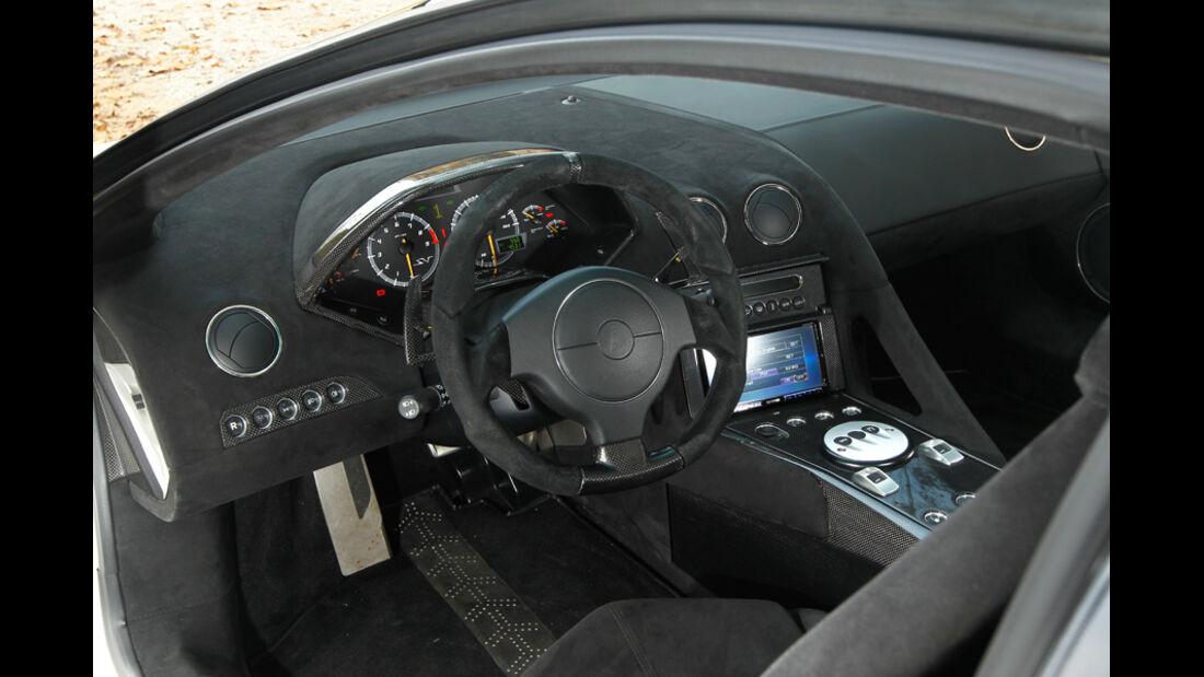 Lamborghini Murcielago SV, Cockpit, Lenkrad