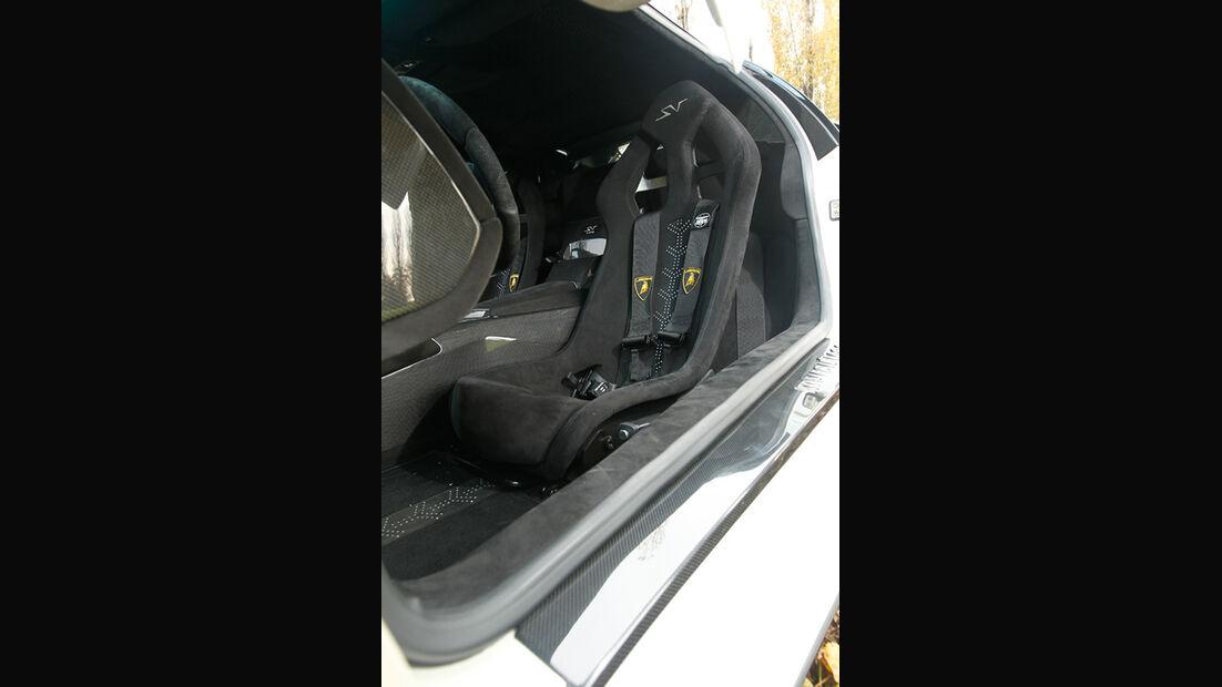Lamborghini Murcielago SV, Fahrersitz, Sportsitz