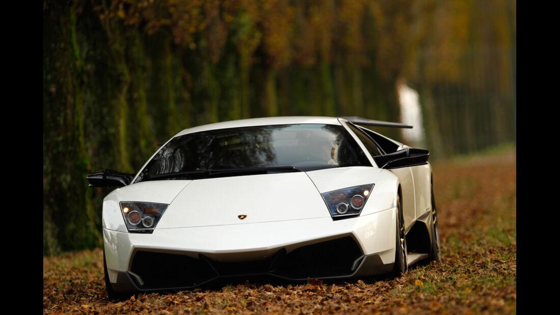 Lamborghini Murcielago SV, Frontansicht, Park