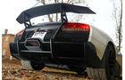 Lamborghini Murcielago SV, Heck, Heckspoiler, Auspuff