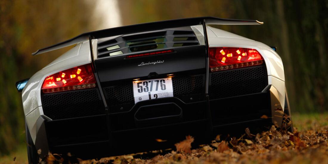 Lamborghini Murcielago SV, Heck, Park, Bremslicht