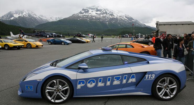 Lamborghini Polizeiwagen