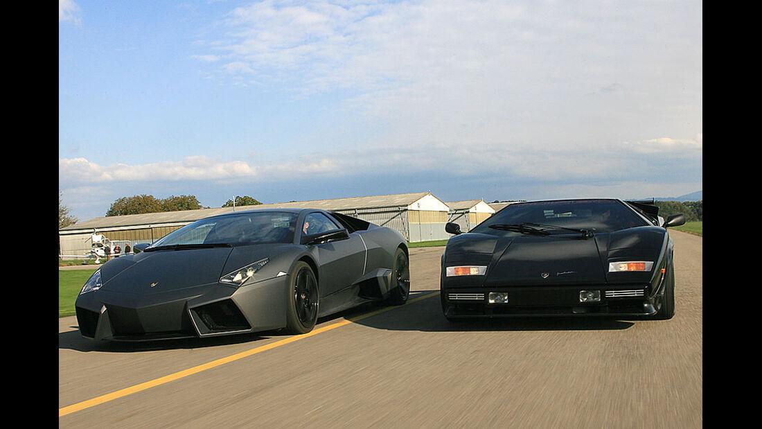 Lamborghini Revent�n, Lamborghini Countach Turbo S