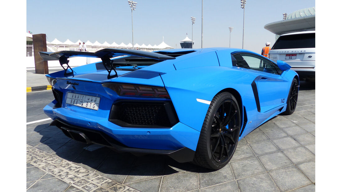 Lamborghini Reventon - F1 Abu Dhabi 2014 - Carspotting
