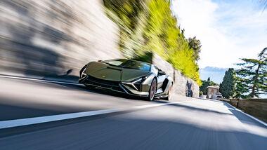 Lamborghini Sián, Exterieur