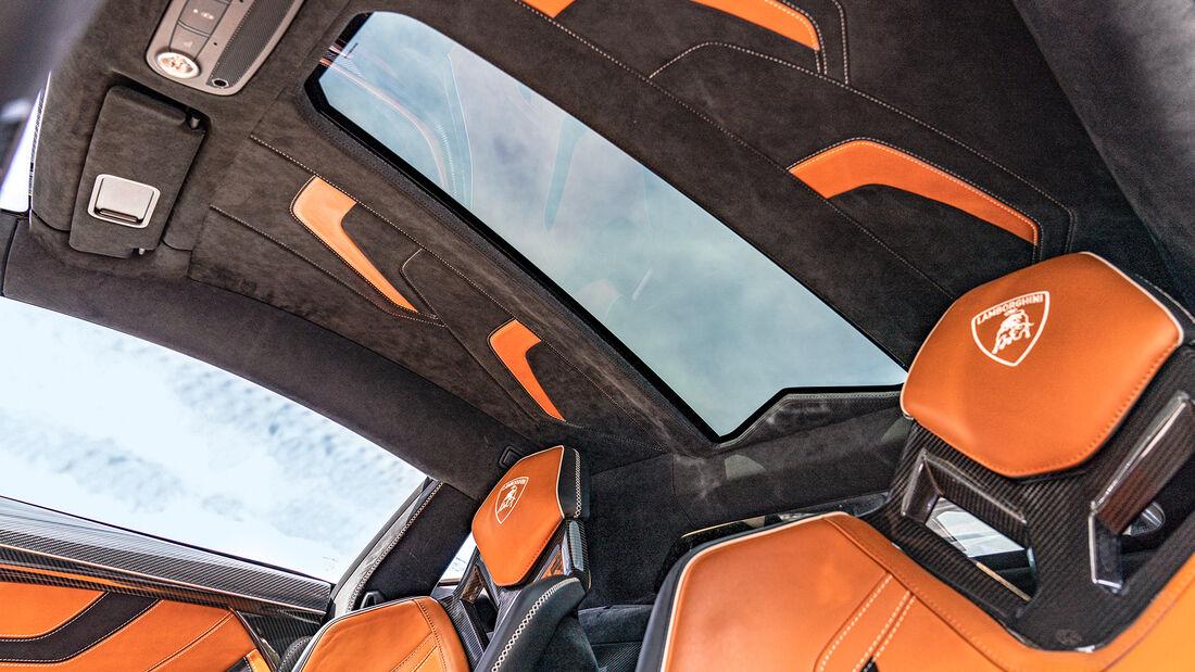 Lamborghini Sián, Interieur