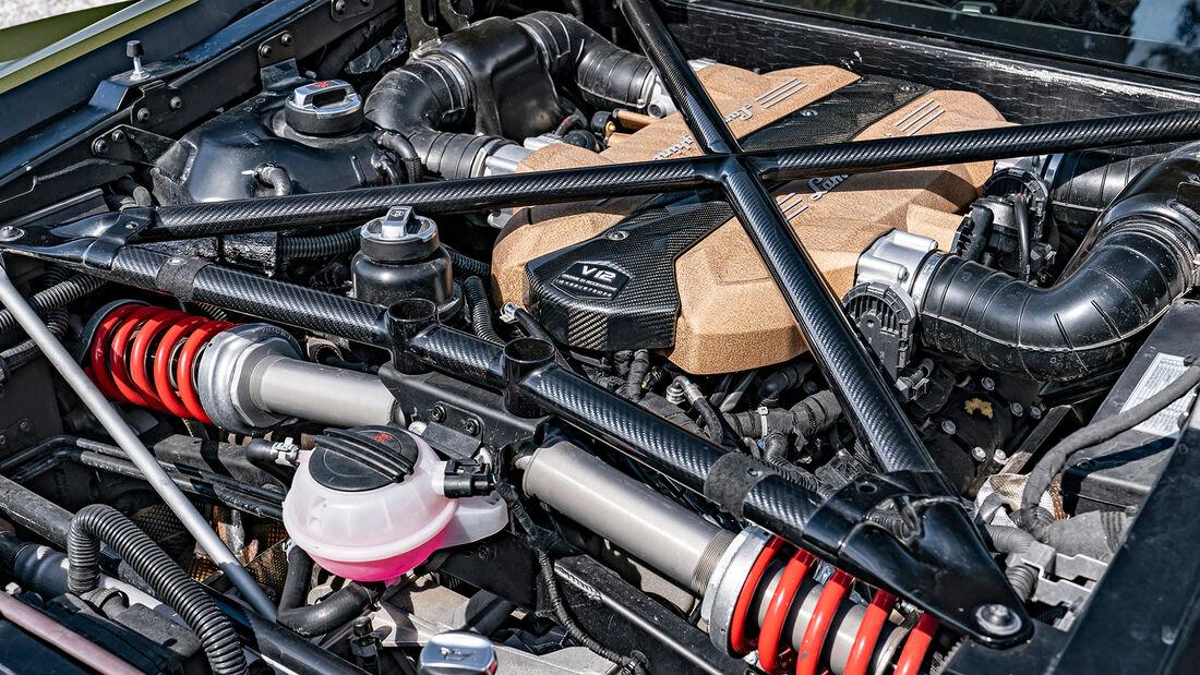 Lamborghini Sián, Motor