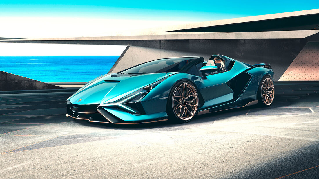 Lamborghini Sián Roadster: