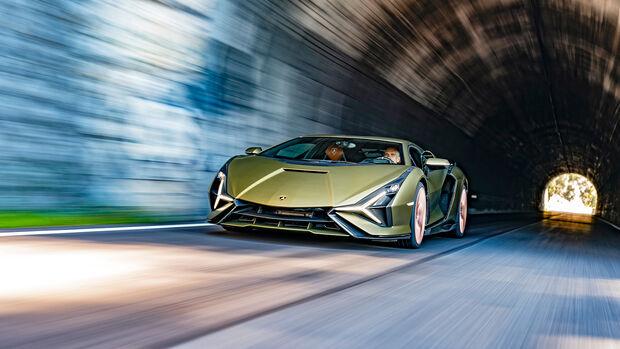 Lamborghini Sián, Tunnel