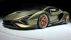 Lamborghini Sian 2019