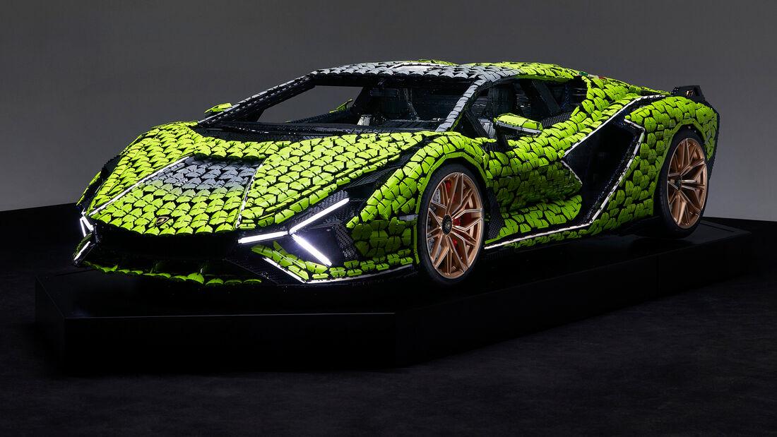 Lamborghini Sian - Lego - 1:1-Modell - 2021