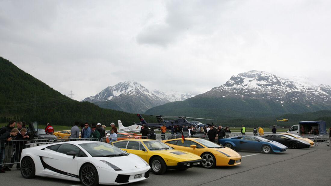 Lamborghini-Treffen