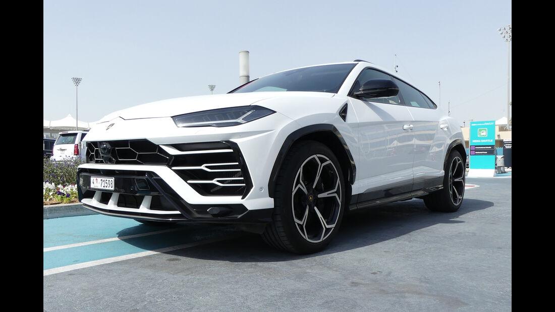 Lamborghini Urus - Carspotting - GP Abu Dhabi 2018