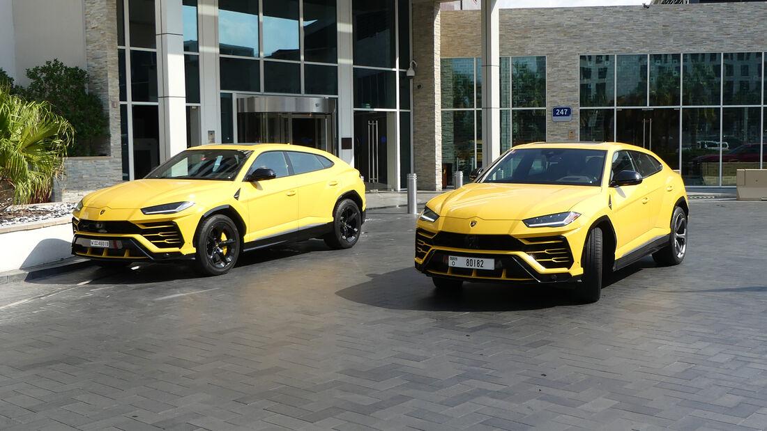 Lamborghini Urus - Carspotting - GP Abu Dhabi 2019