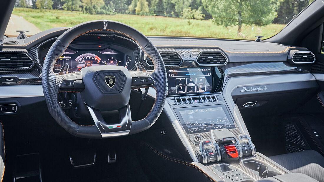 Lamborghini Urus, Interieur