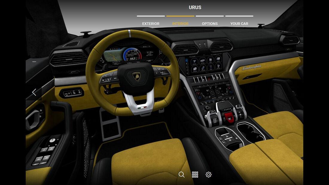 Lamborghini Urus Konfiguration