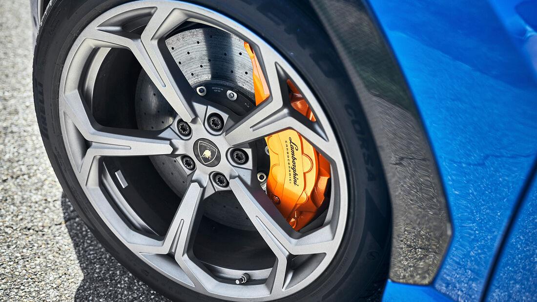 Lamborghini Urus, Rad