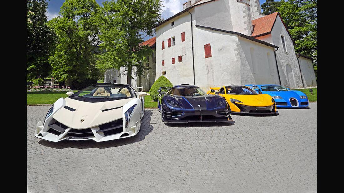 Lamborghini Veneno Roadster, Bonhams-Versteigerung, Genf 2019