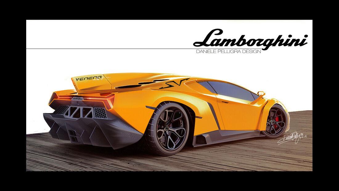 Lamborghini Veneno SV Concept - Daniele Pelligra 2014