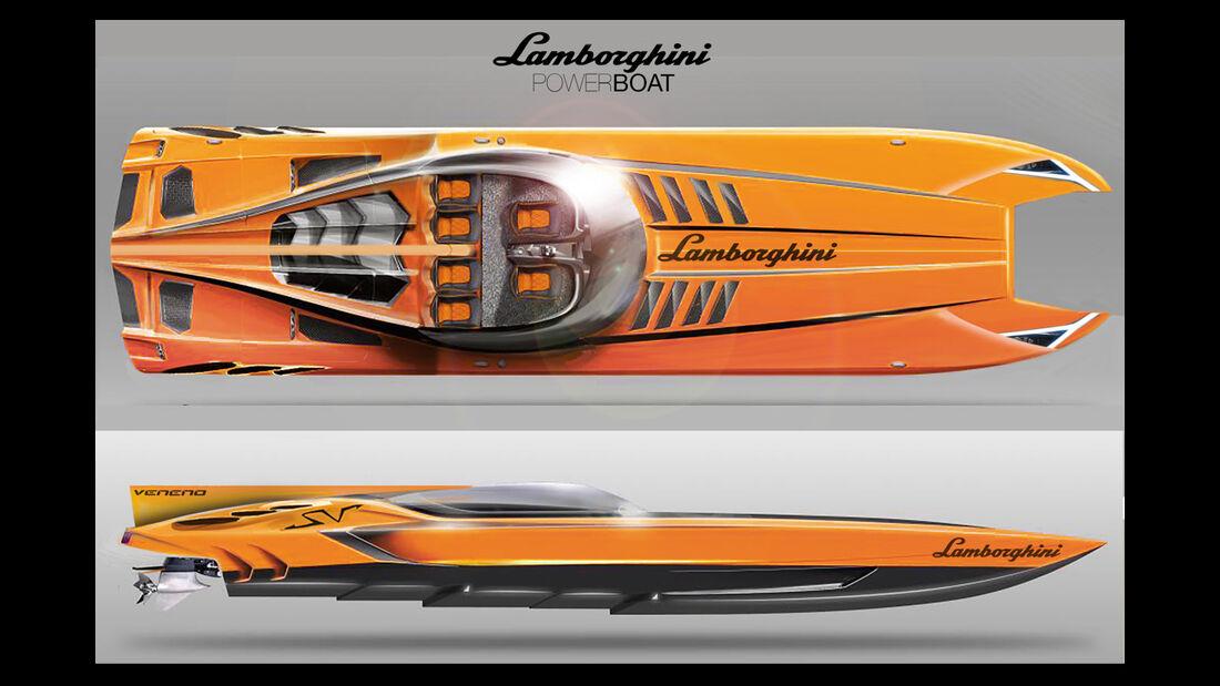 Lamborghini Veneno Yacht Concept - Daniele Pelligra 2014