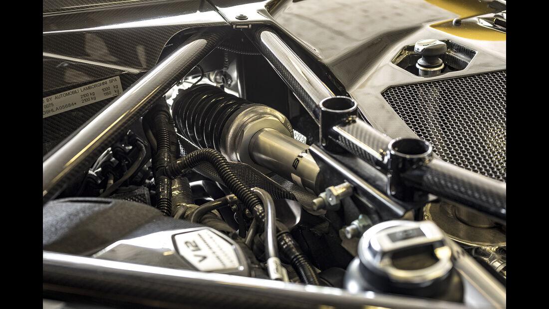 Lamborgini Aventador S, Fahrwerk